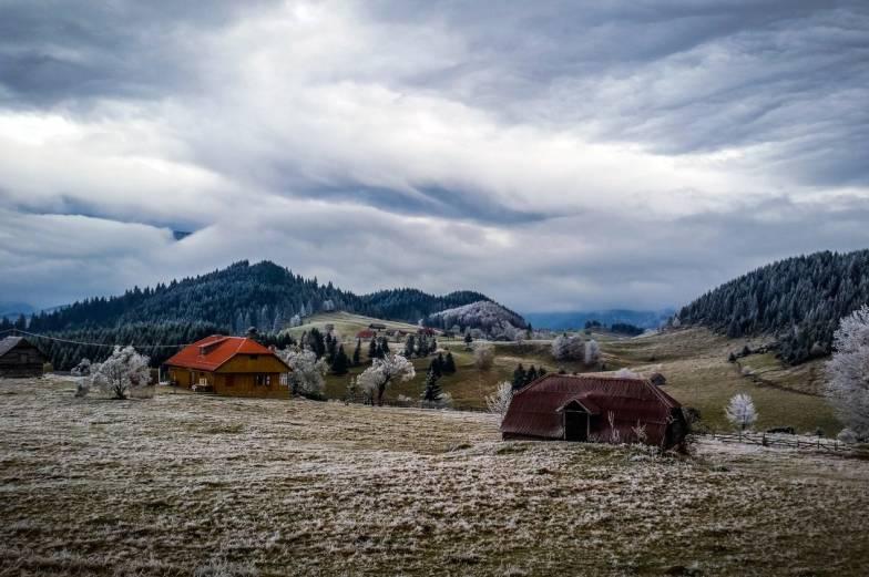 winter is close landscape